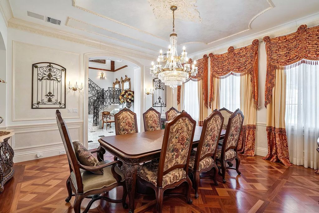 The Home in Boca Raton is a majestic Venetian inspired estate features exquisite living and entertaining spaces now available for sale. This home located at 1936 Royal Palm Way, Boca Raton, Florida; offering 3 bedrooms and 7 bathrooms with over 7,800 square feet of living spaces.