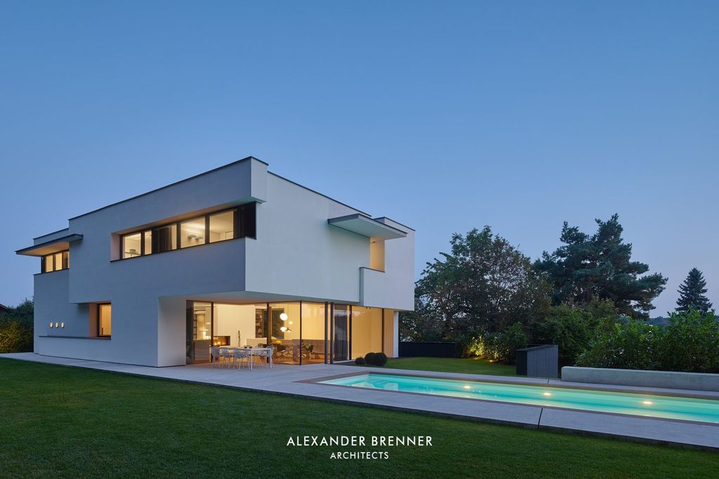 The Prominent Haus am Wald Residence by Alexander Brenner Architects