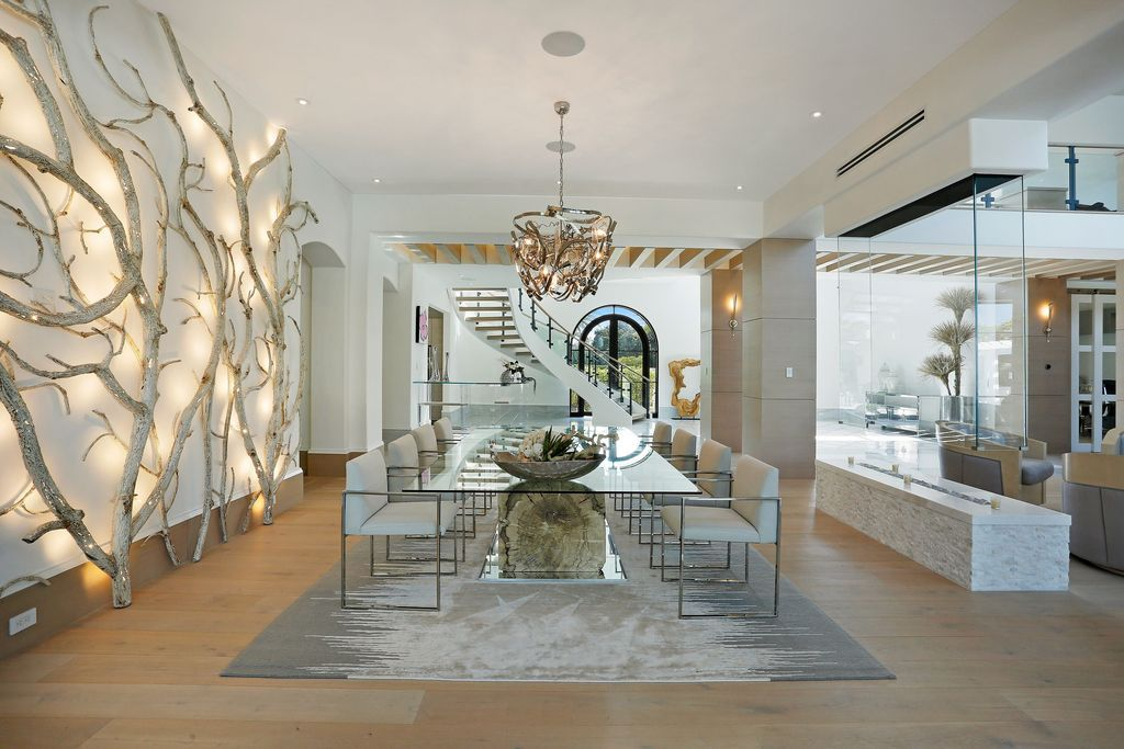 The Home in Naples is an ultra-luxury resort coupled with all the comforts with every detail was meticulously planned now available for sale. This home located at 705 Myrtle Rd, Naples, Florida; offering 6 bedrooms and 9 bathrooms with over 12,900 square feet of living spaces.