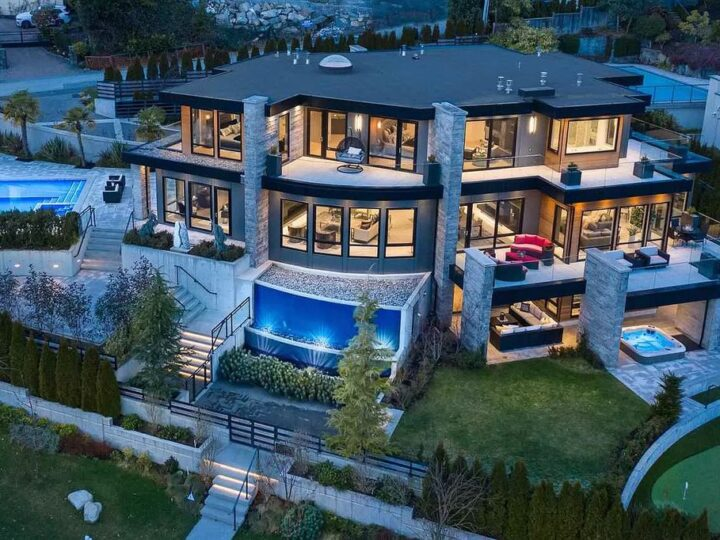 Brand-New World Class Residence in West Vancouver Sells for C$14,800,000