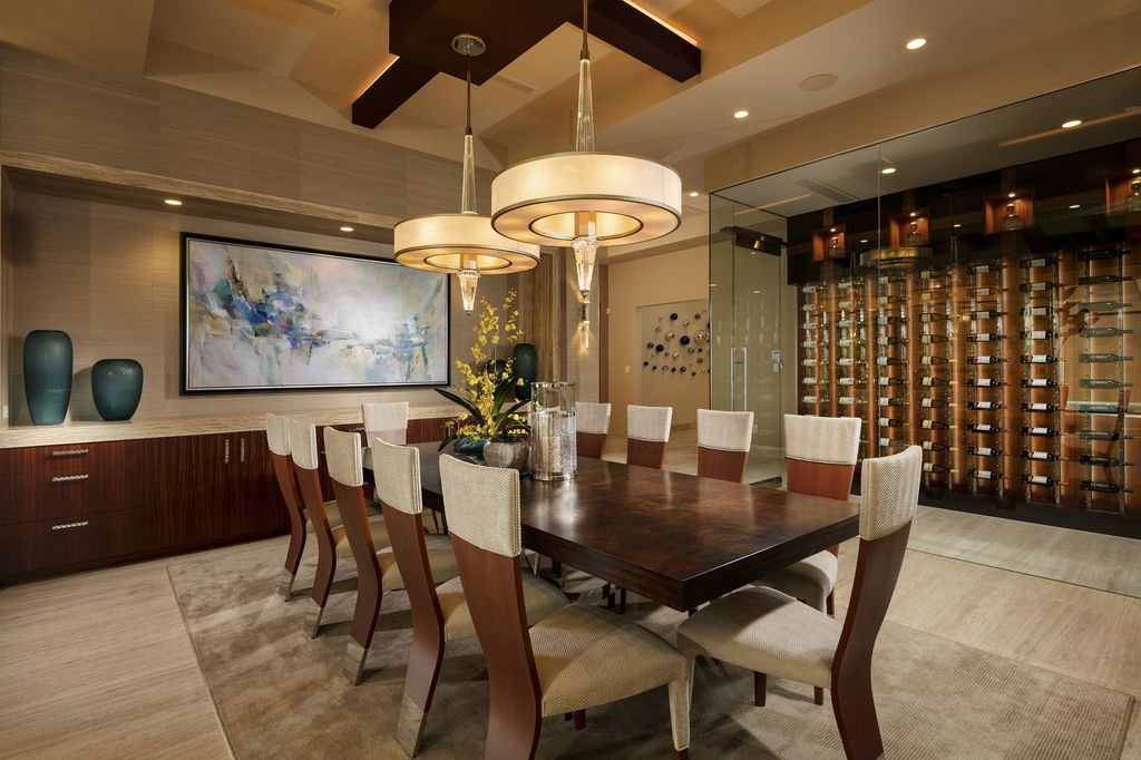 This Extravagant Luxury Villa in Nevada is designed and built by legendary Sun West Custom Homes LLC. Premium villa in the community of Ascaya, with stunning panoramic views of the Las Vegas Strip and surrounding mountains