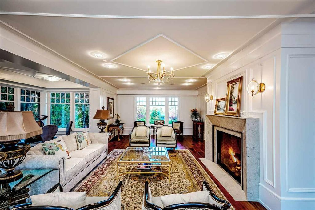 The Extravagant Majestic Mansion in Vancouver is an architectural masterpiece now available for sale. This home located at 1233 Tecumseh Ave, Vancouver, BC V6H 1T3, Canada