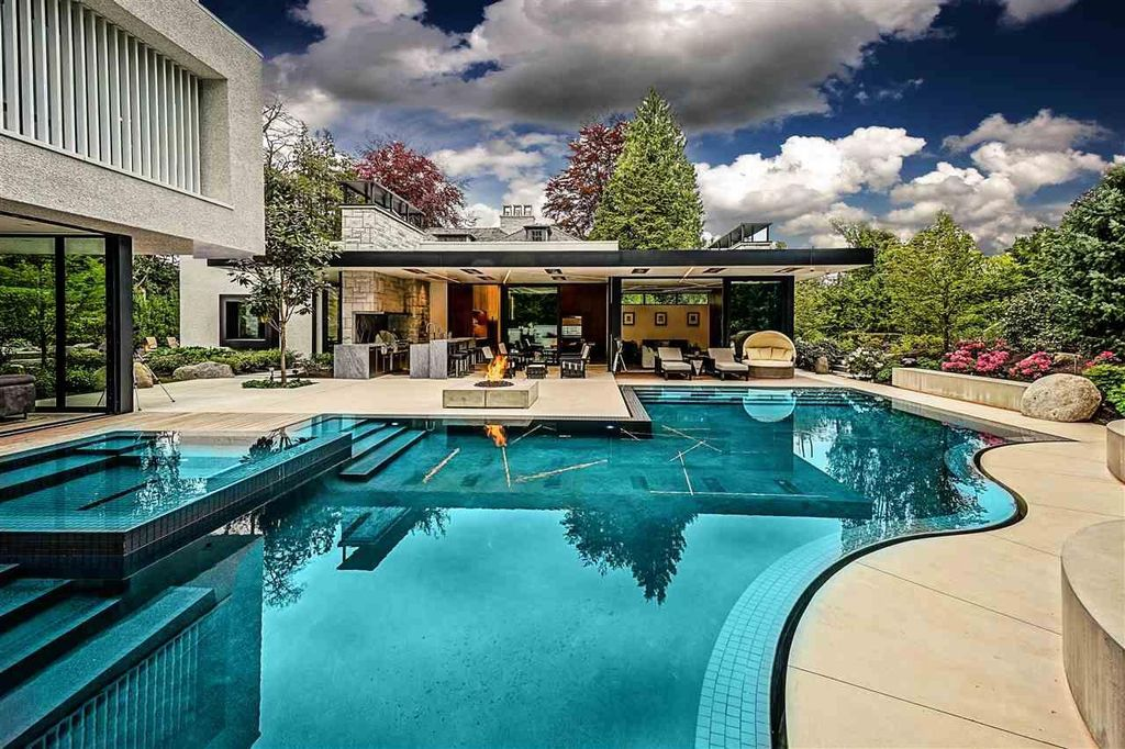 Extravagant Majestic Mansion in Vancouver on Market for C$35,800,000