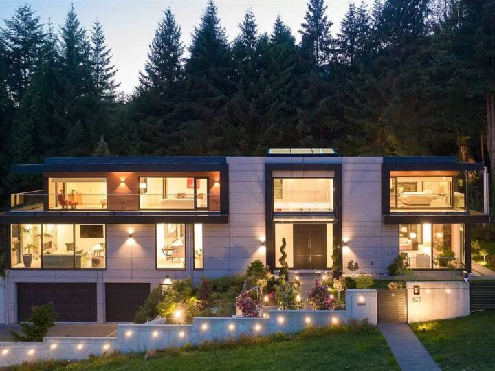 Gorgeous House in West Vancouver Overlooking  Stunning Mountain & City Views for Sale at C$7,980,000