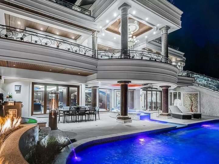 Magnificent European Inspired Mansion in West Vancouver hits Market for C$14,880,000