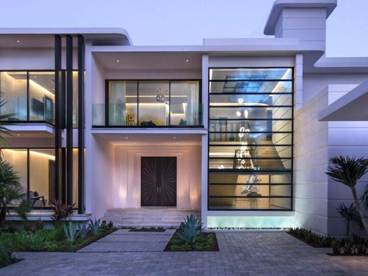 Outstanding Luxury House in Miami Beach Built by Bart Reines Luxury HomeBuilder