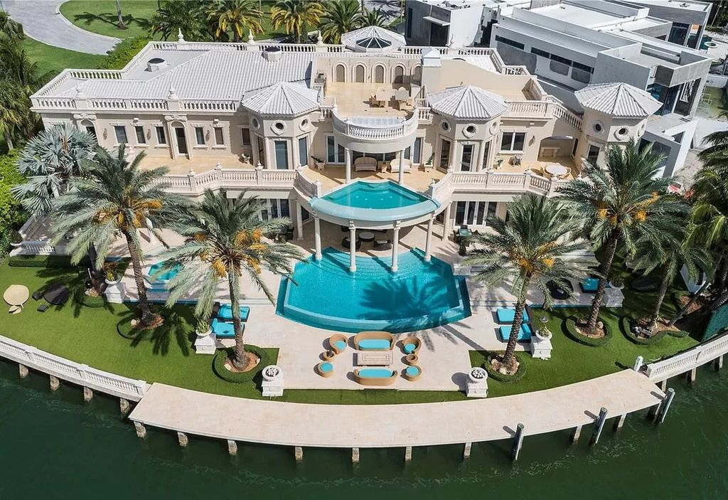 Palatial Florida Mansion with Absolutely Unparalleled Finishes Asking for $35,000,000