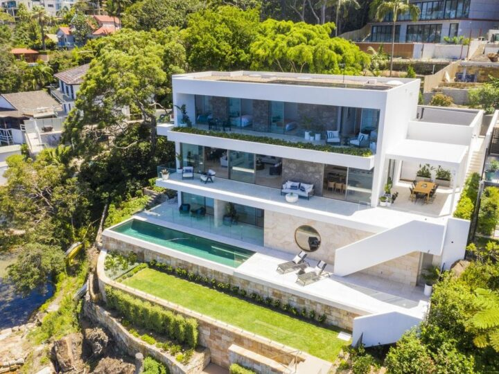 Superb Seaforth villa in New South Wales designed by Dino Raccanello for Sale