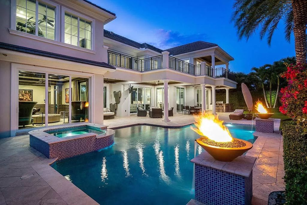 This $8,650,000 Boca Raton Home offers Exceptional Building Quality