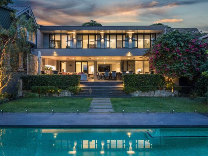 Two level Mosman home in New South Wales with striking view for Sale