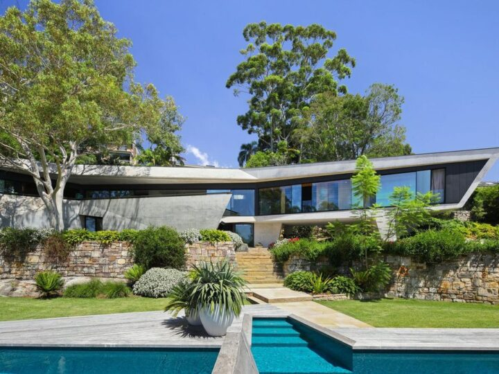 Visionary serene home in New South Wales with monumental view for Sale