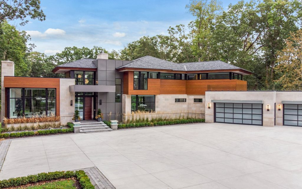 $2,599,900 Marvelous Custom Contemporary Home in Michigan is Truly One of A Kind