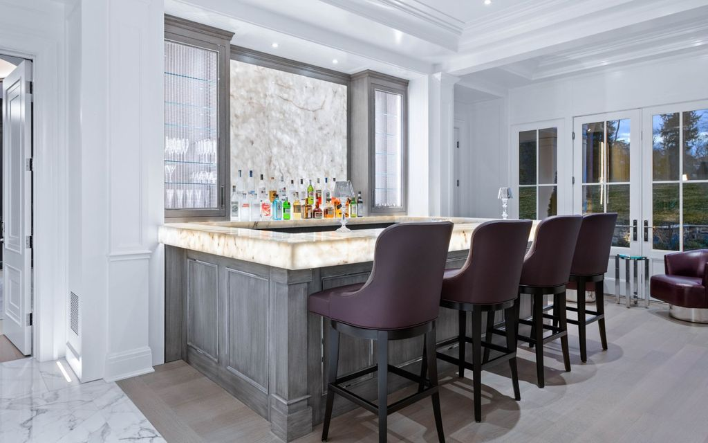 The Greenwich Mansion is a a premier new custom construction property, outfitted with symmetrical elegance and exquisite finishes now available for sale. This home located at 543 Stanwich Rd, Greenwich, Connecticut