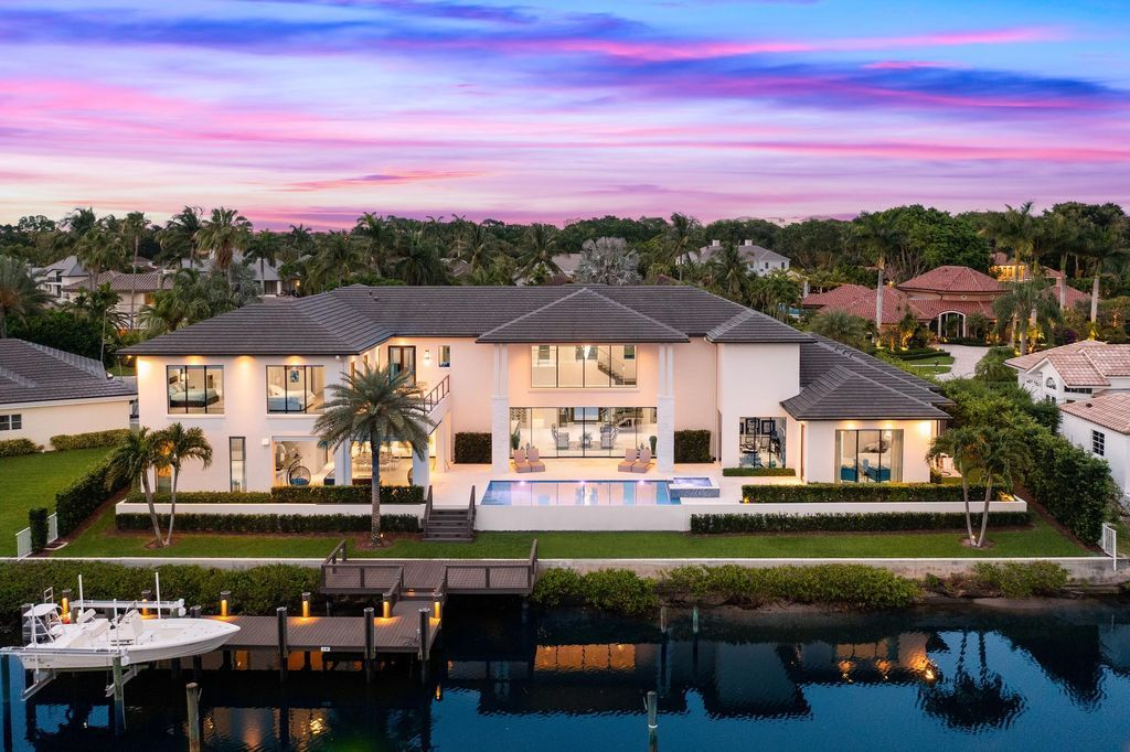 A Truly Modern Home in Palm Beach Gardens on Market for $7,750,000