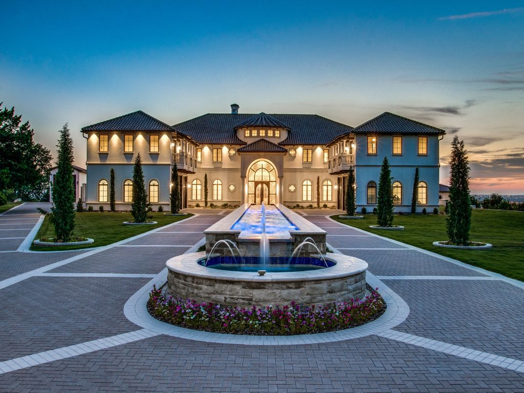 An Elegantly Intimate Estate in Texas with Panoramic Views for Sale at $9,950,000