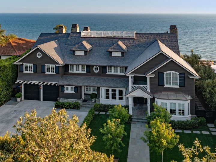 An Iconic Traditional Home in Pacific Palisades listed for $37,500,000