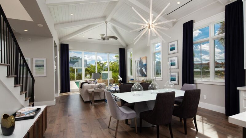 Beautiful Coquina Custom Home in Naples, Florida by Clive Daniel Home