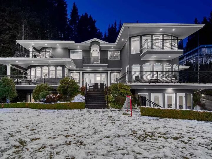 Beautifully Renovated House in West Vancouver Lists for C$4,998,000