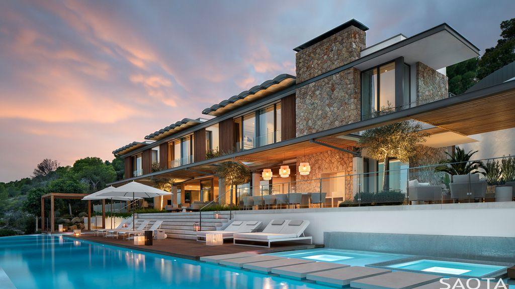 Bora Headquarters Villa  Merges Modern & Classic Designs by SAOTA