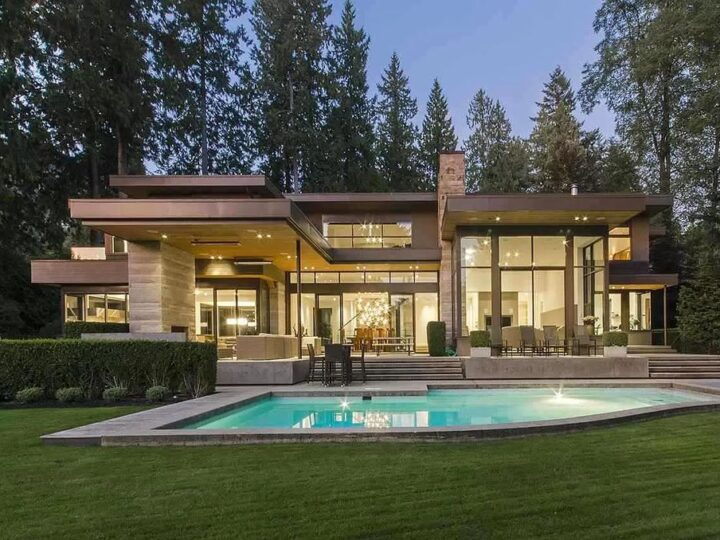 Gorgeous World-Class Residence in West Vancouver Sells for C$10,580,000