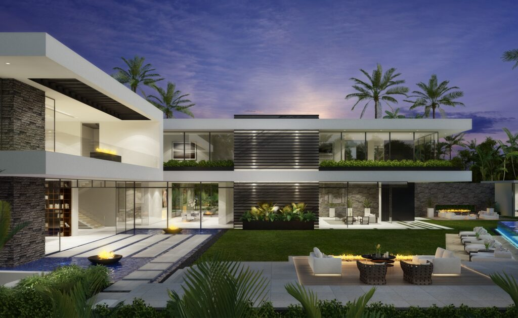 The Beverly Hills Home is a project perched in the most prestigious location in Beverly Hills was conceptualized by CLR Design Group