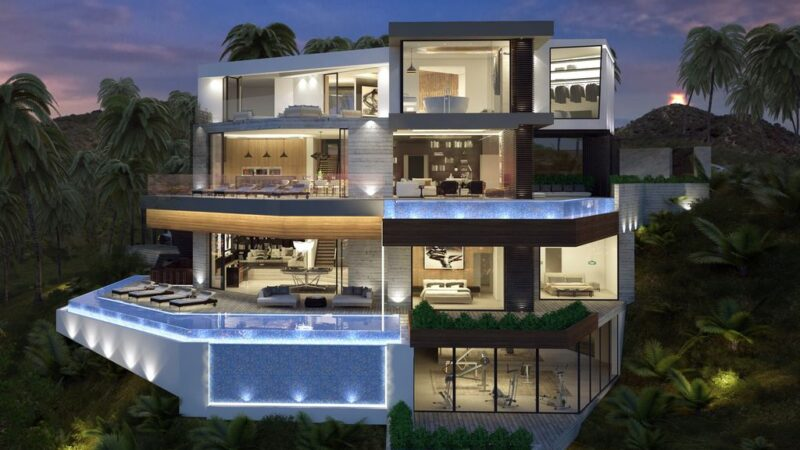 Magnificent Beverly Hills Modern Home Concept by Vantage Design Group