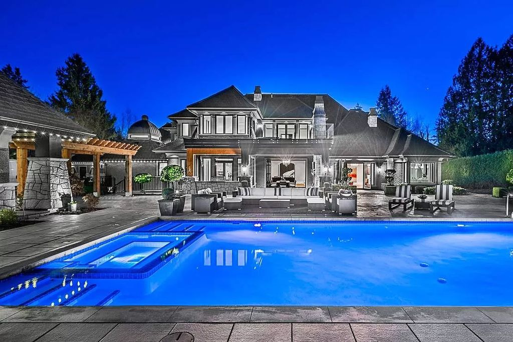 Majestic Classic European Inspired Mansion in Surrey Sells for C$9,980,000