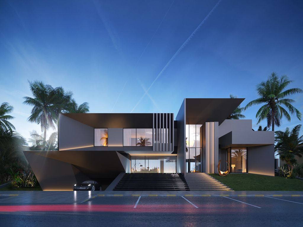 Masterfully Conceptual Villa in Abu Dhabi Royal Marina by LS Project