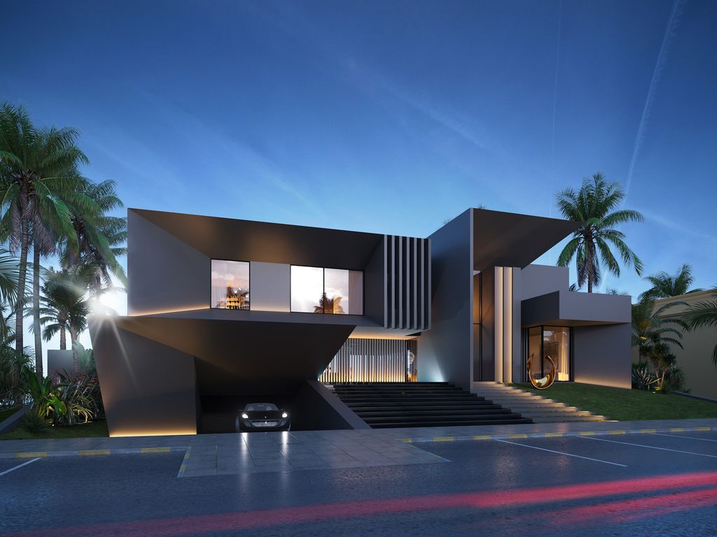 The Conceptual Villa in Abu Dhabi Royal Marina is a project perched in the most prestigious location in Abu Dhabi, United Arab Emirates was conceptualized by LS Project