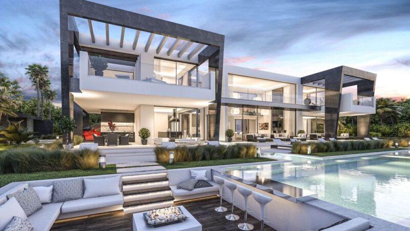 Spectacular Modern Villa Melbourne in Australia by B8 Architecture and Design Studio