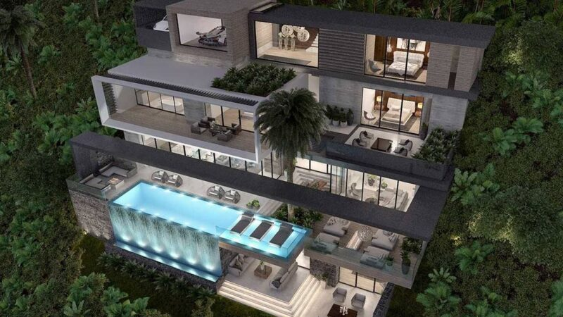 The Skyline House s a project in Los Angeles, California was designed in concept stage by Bowery Design Group in Modern style, it offers luxurious modern living.