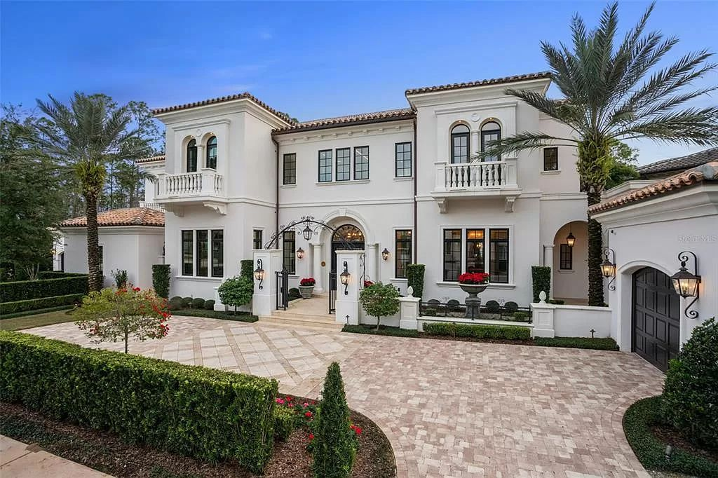 This $16,385,000 Orlando Villa comes with Exceptional Luxury and Thoughtful Design