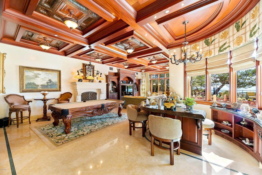 The Beachfront Mansion in Malibu is an architectural tour-de-force offers features and amenities that most can only dream of now available for sale. This home located at 31272 Broad Beach Rd, Malibu, California