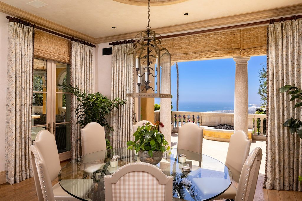 The Newport Coast Villa nestled on one of the largest custom parcels showcasing the most view frontages in the community now available for sale. This home located at 31 High Water, Newport Coast, California