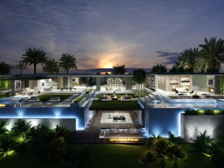 Trophy View Beverly Hills Mansion Concept by Vantage Design Group
