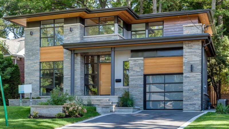 Bloor West Living House, a Harmonious Design by David Small Designs