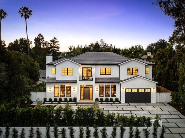 Exceptional Newly Built Brentwood Modern Farmhouse seeks $12,995,000