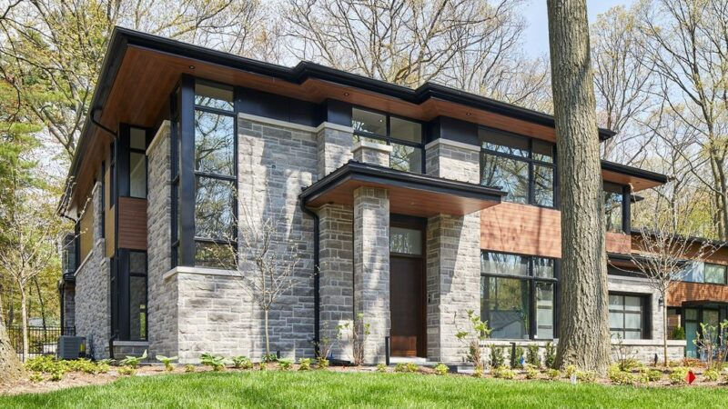 Modern Trend House, Respects Established Ethos by David Small Designs