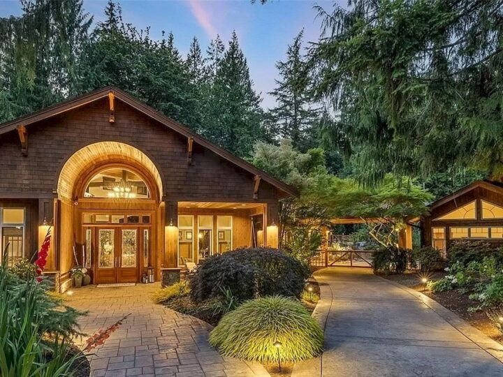 Take Great Opportunity for Equestrian or Hobby Farm in Idyllic Washington Retreat  for $3,750,000