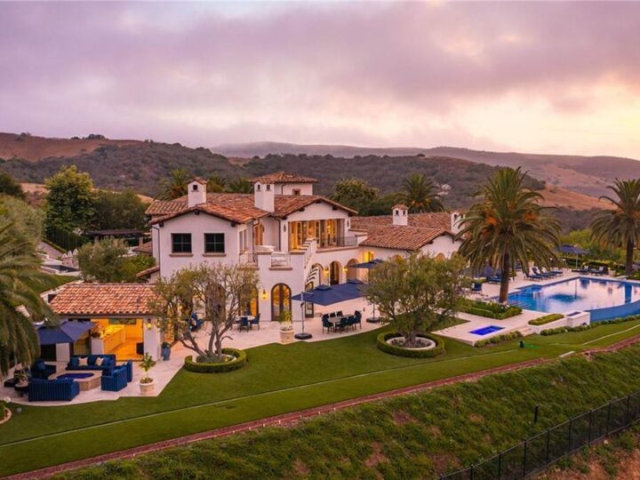 This $49,950,000 Sumptuous Estate is one of the most Magnificent Offerings in Southern California