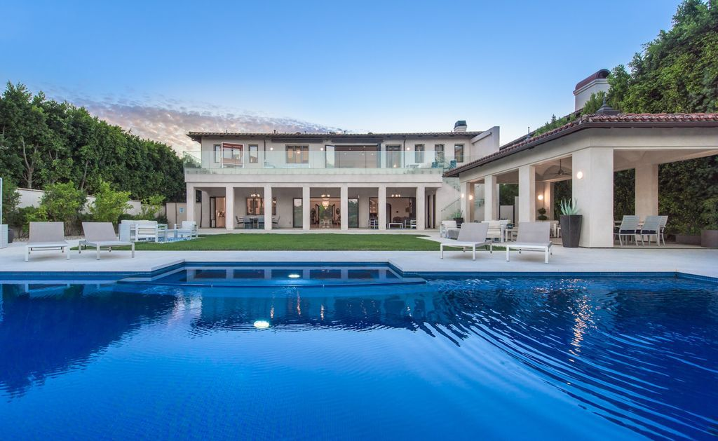 Unmatched Contemporary Mediterranean Mansion in Beverly Hills sells for $15,995,000