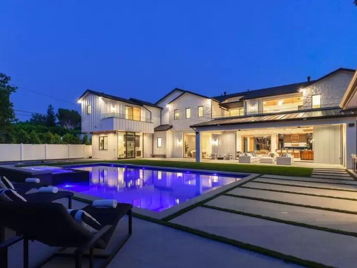 World Class Encino Home with Captivating Architecture hits Market for $8,995,000