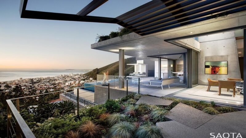 Head 1818 with Bold Contemporary Lines and  Extended Planes by SAOTA