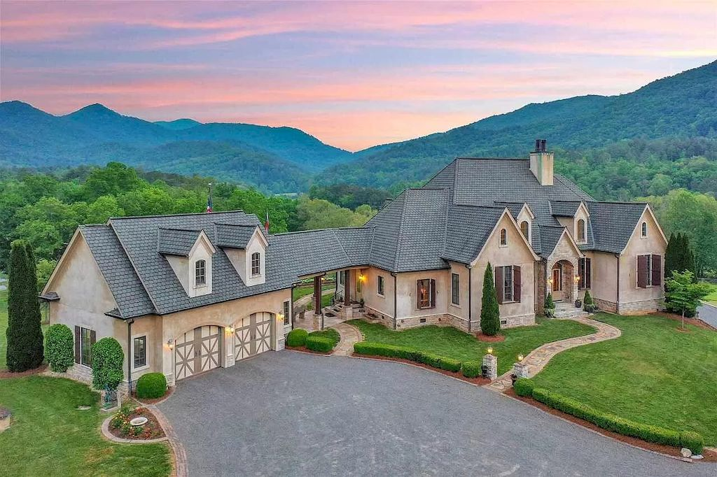 Fabulous Mountain Retreat in Georgia with Exquisite Design and Serene Beauty Listed for $7,825,000