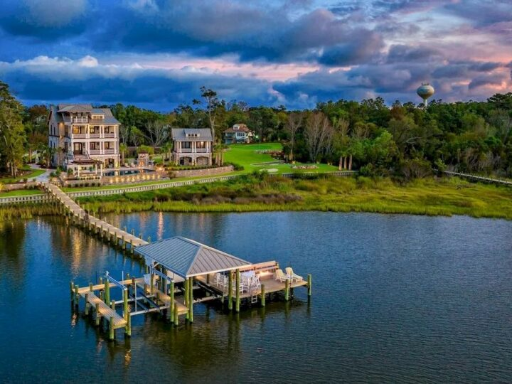 Captivate Elegant and Refined Coastal Lifestyle in this $5,900,000 Resort Style Home in North Carolina