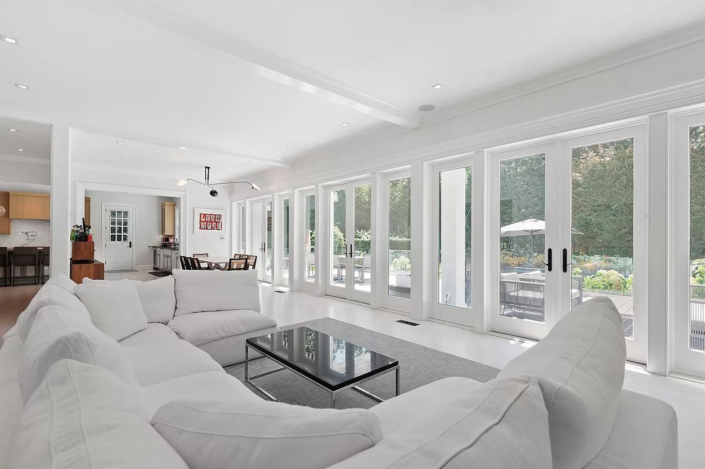Renovated beachfront house in New York city designed by Alicia Murphy Design asks for $4,595,000