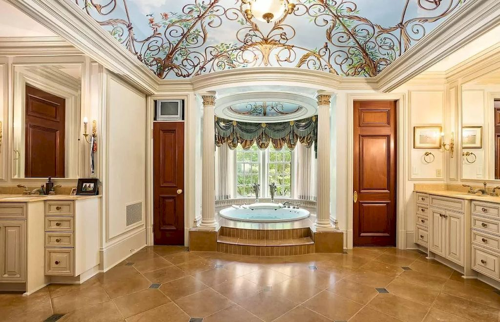 Built to the Highest Commercial Standards, Georgian Architecture-inspired Manor in Georgia Priced at $18,750,000