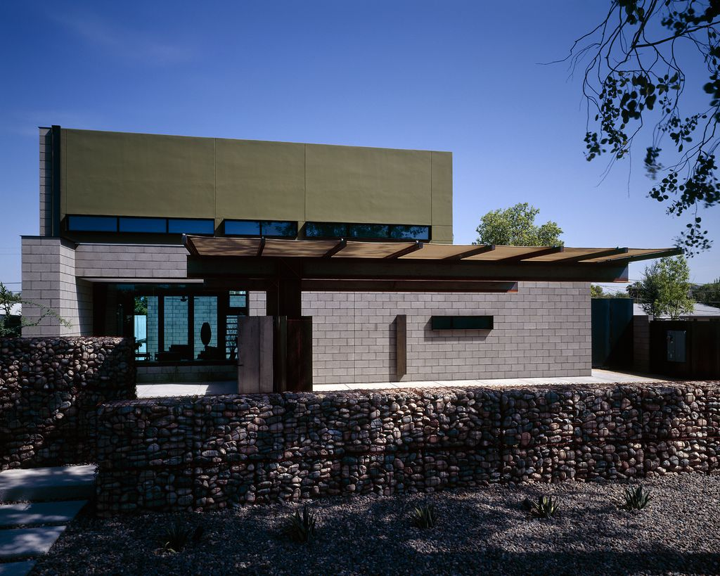 Pivot Slide House, Airy yet Private Home by 180 Degrees Design + Build