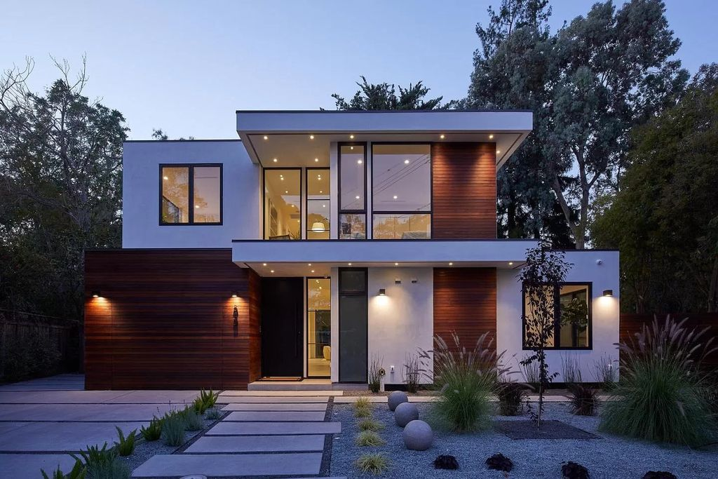 Spectacular Newly Built Contemporary Home in Palo Alto hits Market for $6,995,000