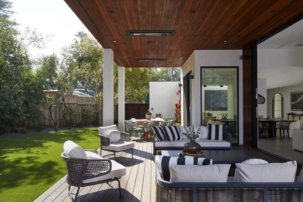 The Home in Palo Alto is a newly built contemporary estate with high-end materials, luxe finishes, and superior craftsmanship now available for sale. This home located at 843 Sutter Ave, Palo Alto, California;